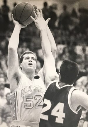 Daren Engellant scored more than 1,200 points in his fine Montana Grizzly career.