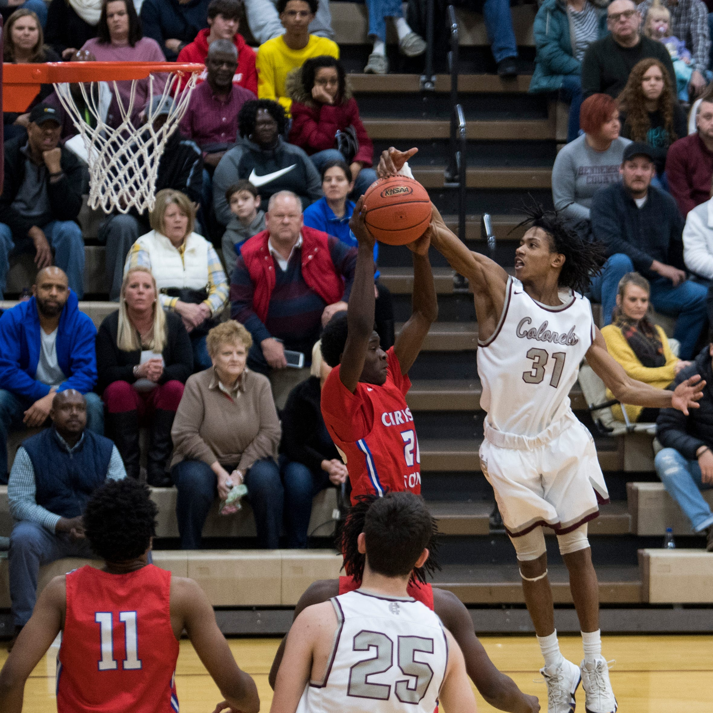 Christian holds off comeback to hand Henderson its first loss 79-71