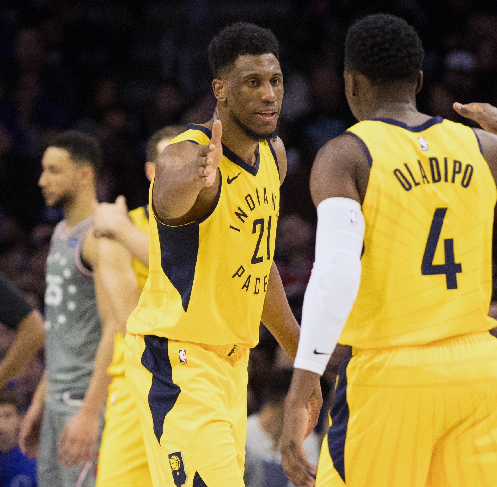 Pacers withstand onslaught from Joel Embiid to upend Sixers, extend win streak to 6