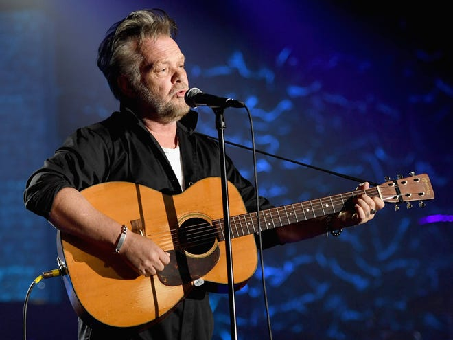 John Mellencamp is seen during the Songwriters Hall of Fame Induction and Awards Dinner June 14 in New York City.