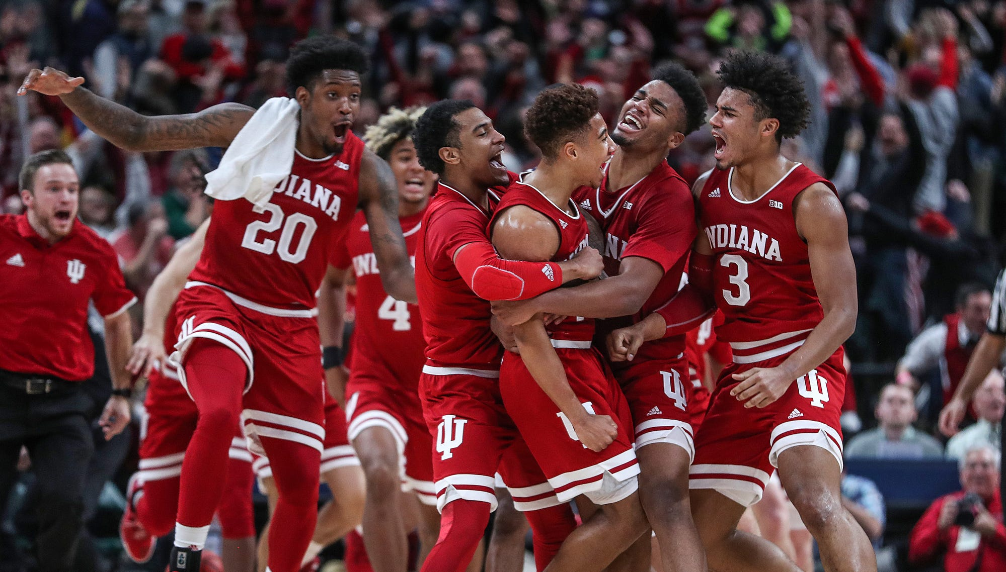 Doyel: It wasn't how IU drew it up, but Rob Phinisee's buzzer-beater a perfect end