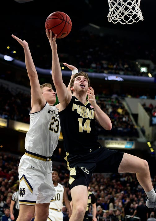 Ncaa Basketball Crossroads Classic Notre Dame At Purdue