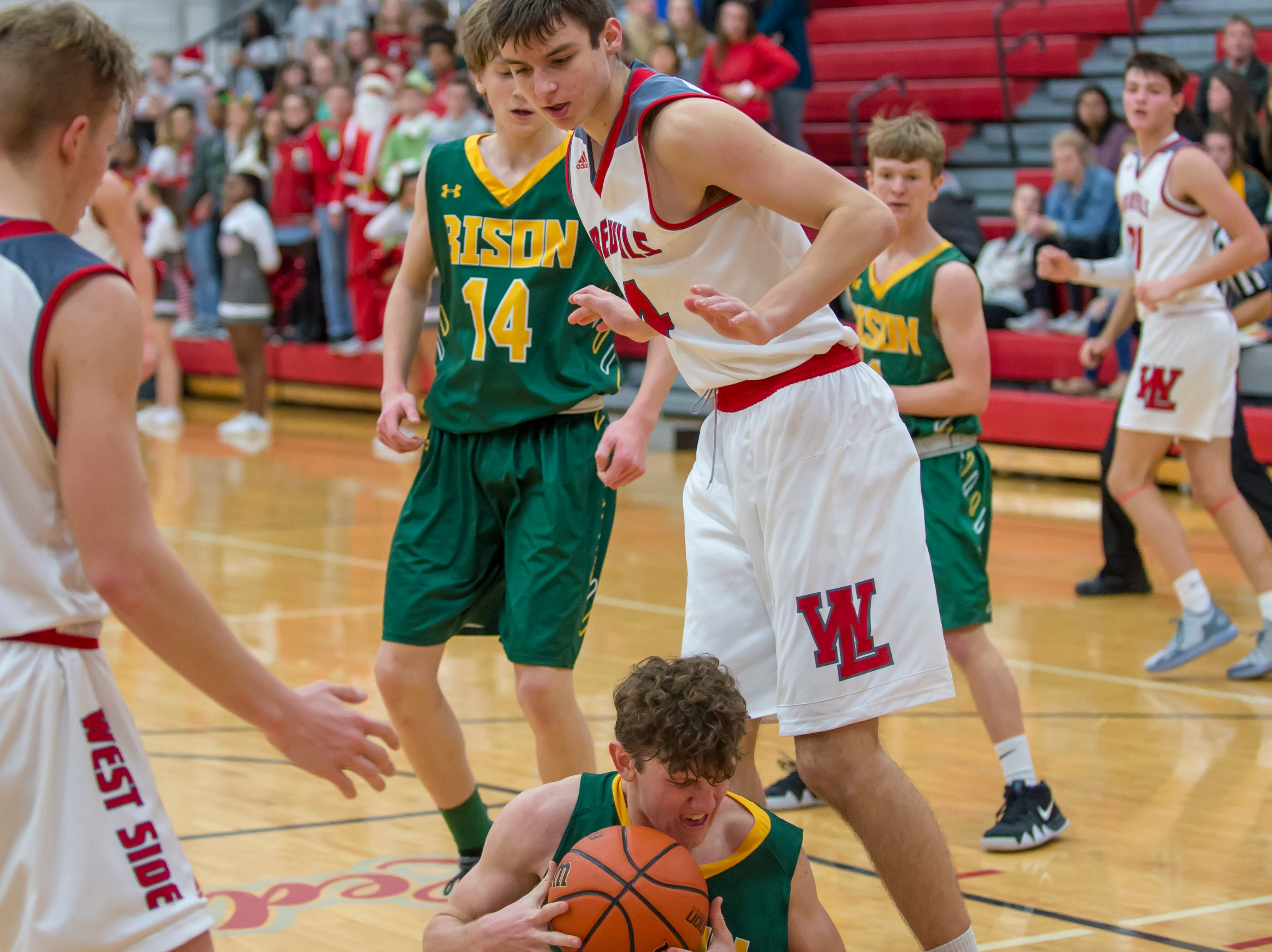 Action from the Benton Central at West Lafayette basketball game on December 14, 2018
