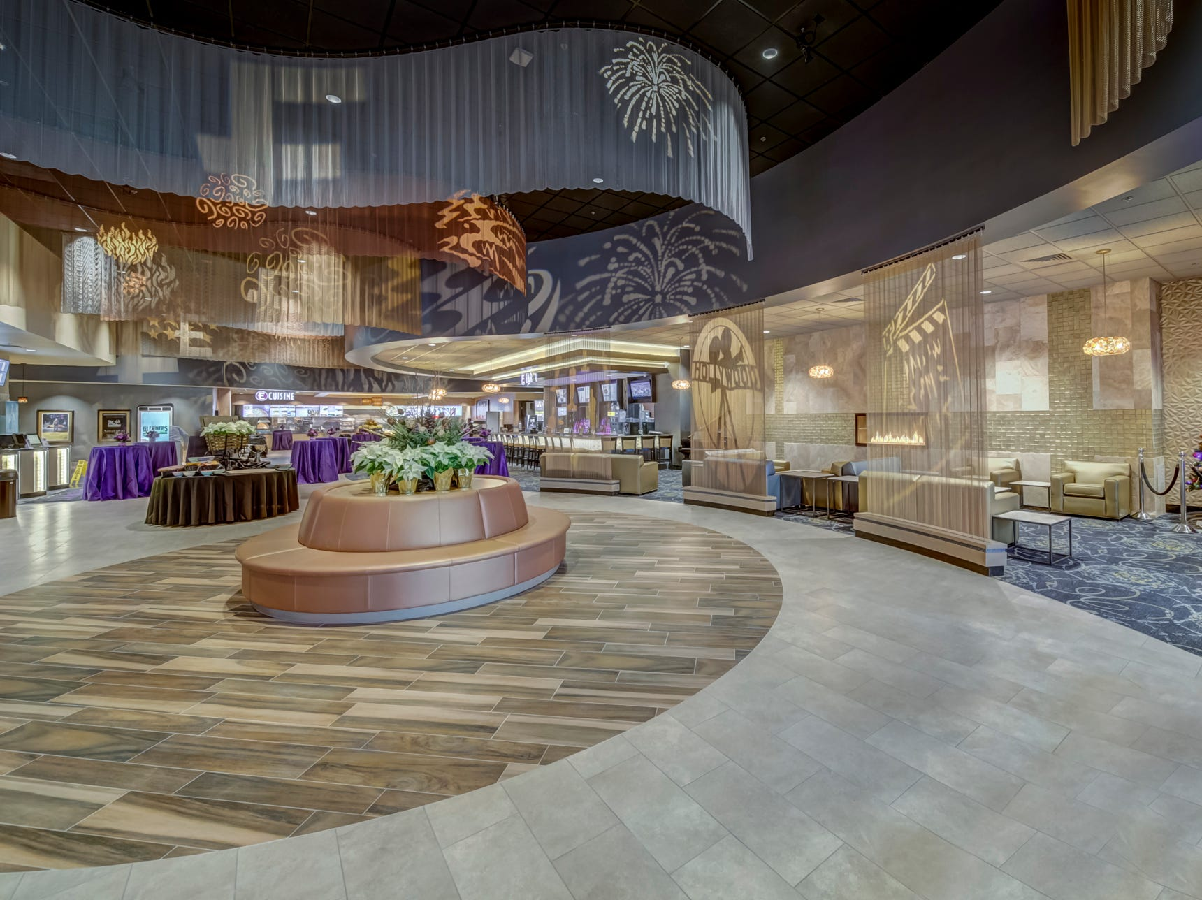 The lobby of Emagine Entertainment's new movie theater Emagine Hartland is shown Friday, Dec. 14, 2018