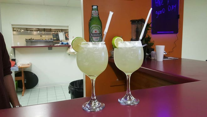 Margaritas shown here at La Morenita that closed recently in Spencer. La Morenita was located at 212 S. Pacific St.