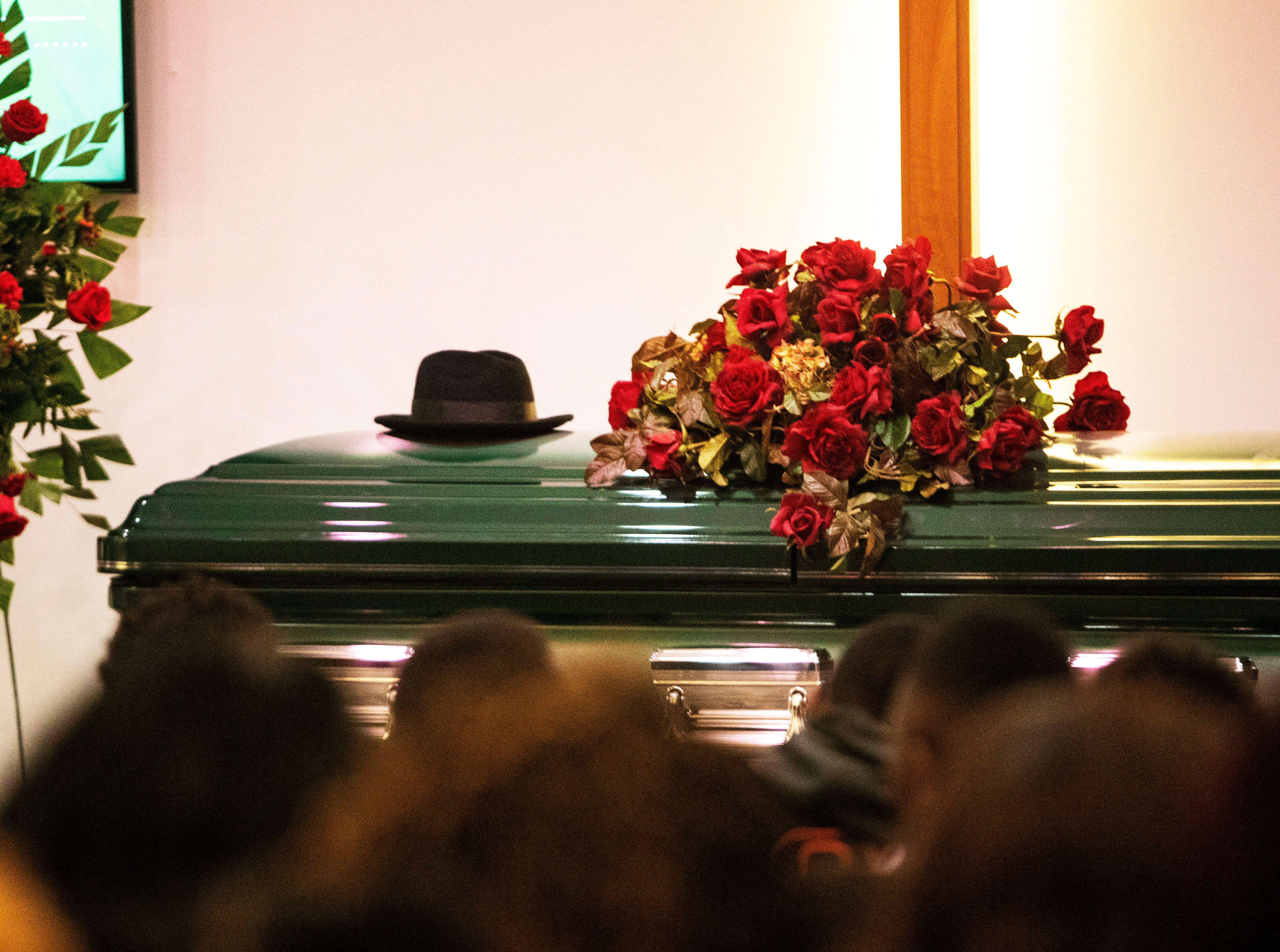9-year-old Kameren Johnson is laid to rest at Serenity Funeral Home, following bus crash, Saturday, Dec. 15, 2018.