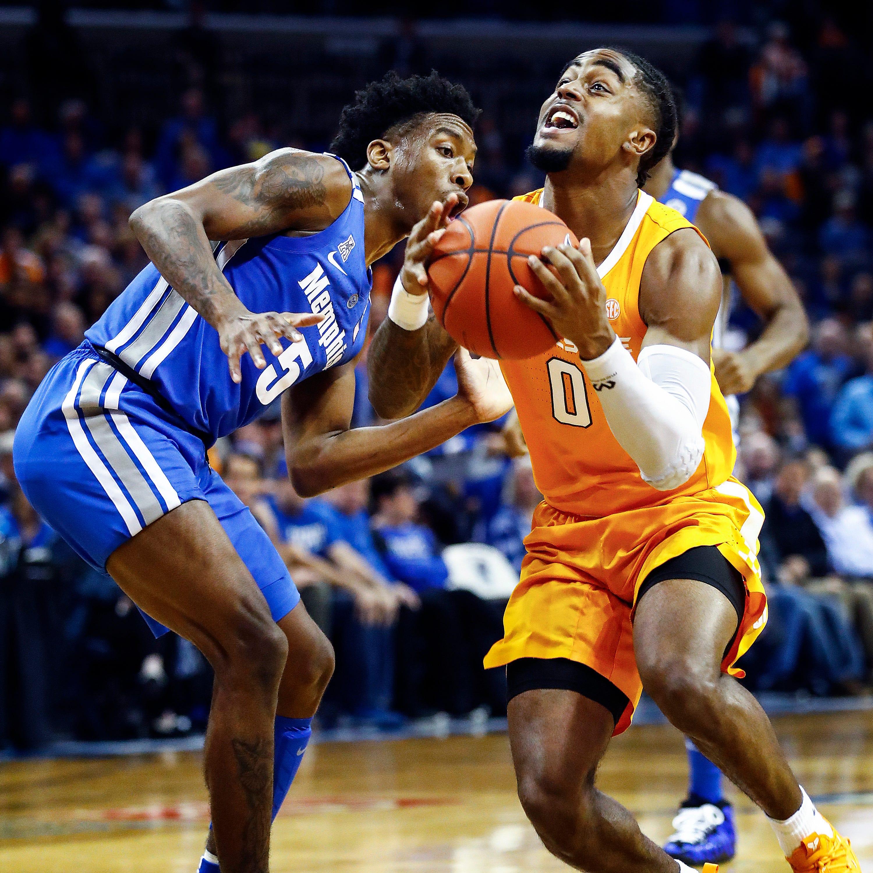 UT 102, Memphis 92: Vols respond to Memphis' second-half push