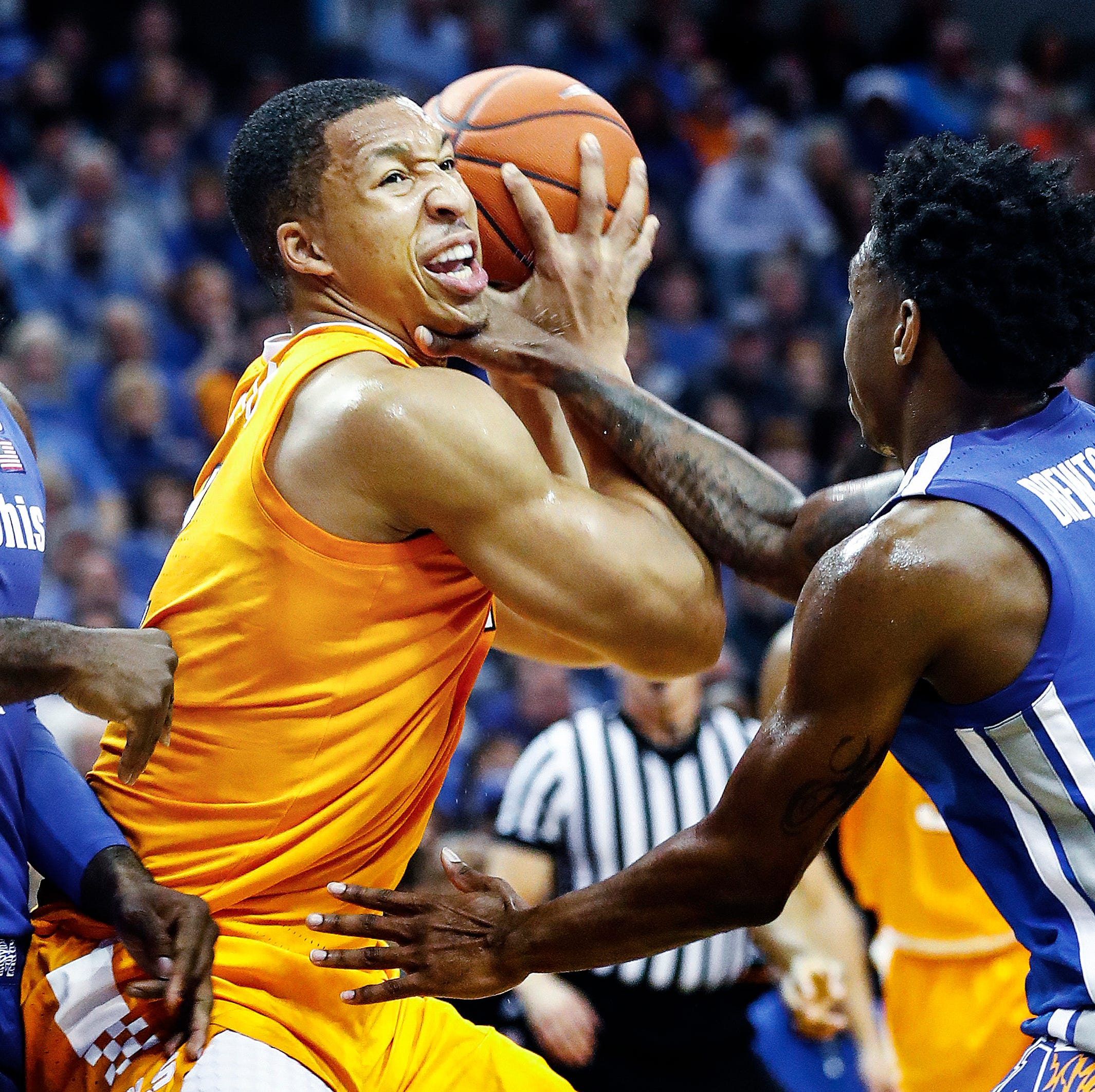 UT Vols basketball players relish first Memphis rivalry experience