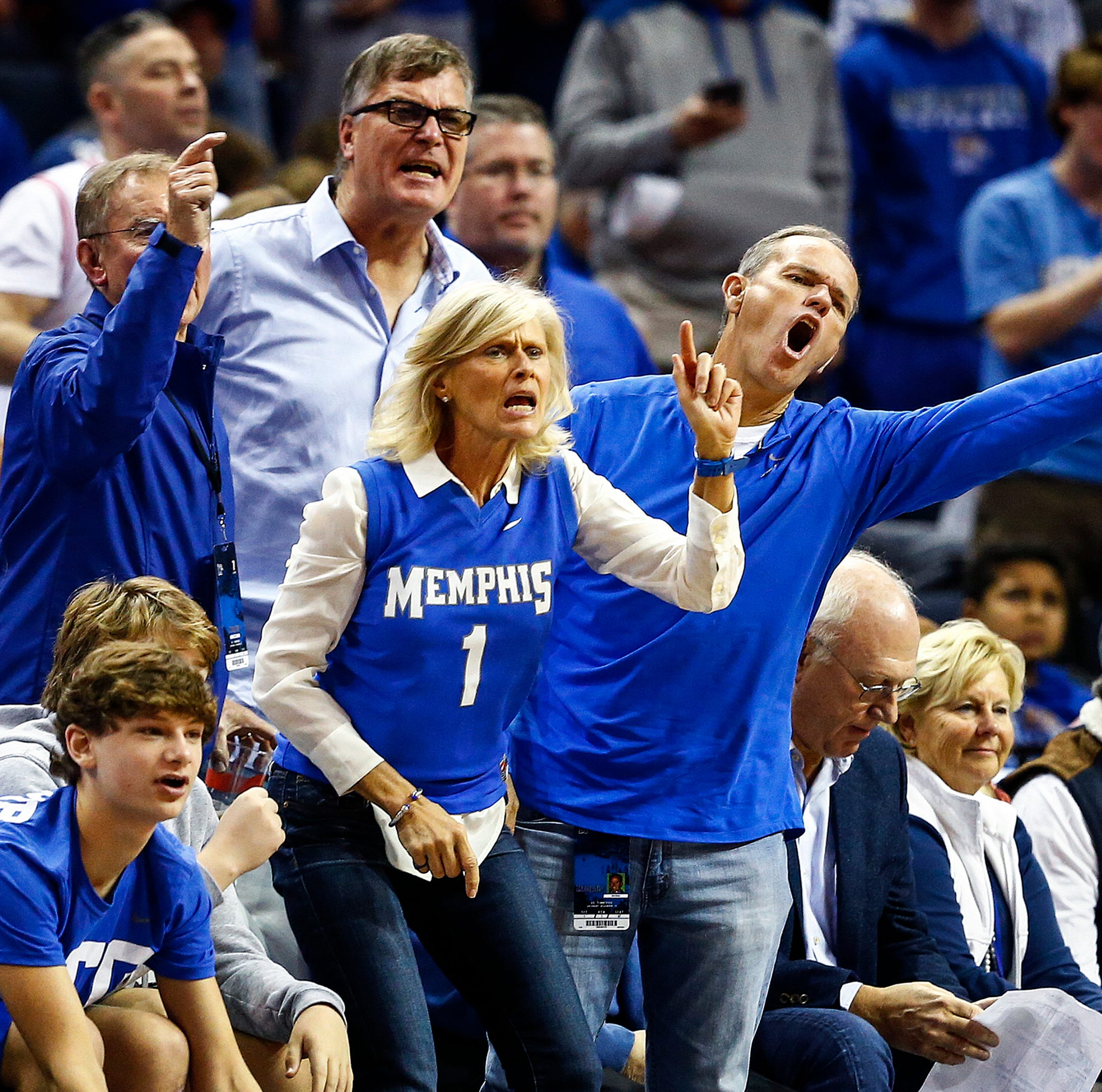 Memphis-UT didn't end the way Tigers fans wanted, but the roar (and the boos) returned to FedEx Forum