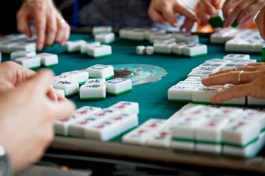 Weekly mahjong is at the Jewish Congregation of Marco Island.