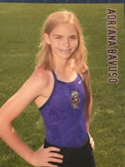 Addie Bavuso was a member of the Oconomowoc High School girls swim team.