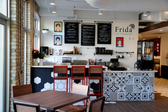 Among the six opening vendors is Frida, a soup and sandwich counter from the owners and chef of Tess restaurant. The menu items have finer-dining touches and Mexican influences.