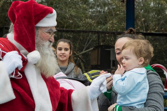 Jungle Bells at the Louisiana Purchase Zoo will be held Saturday.