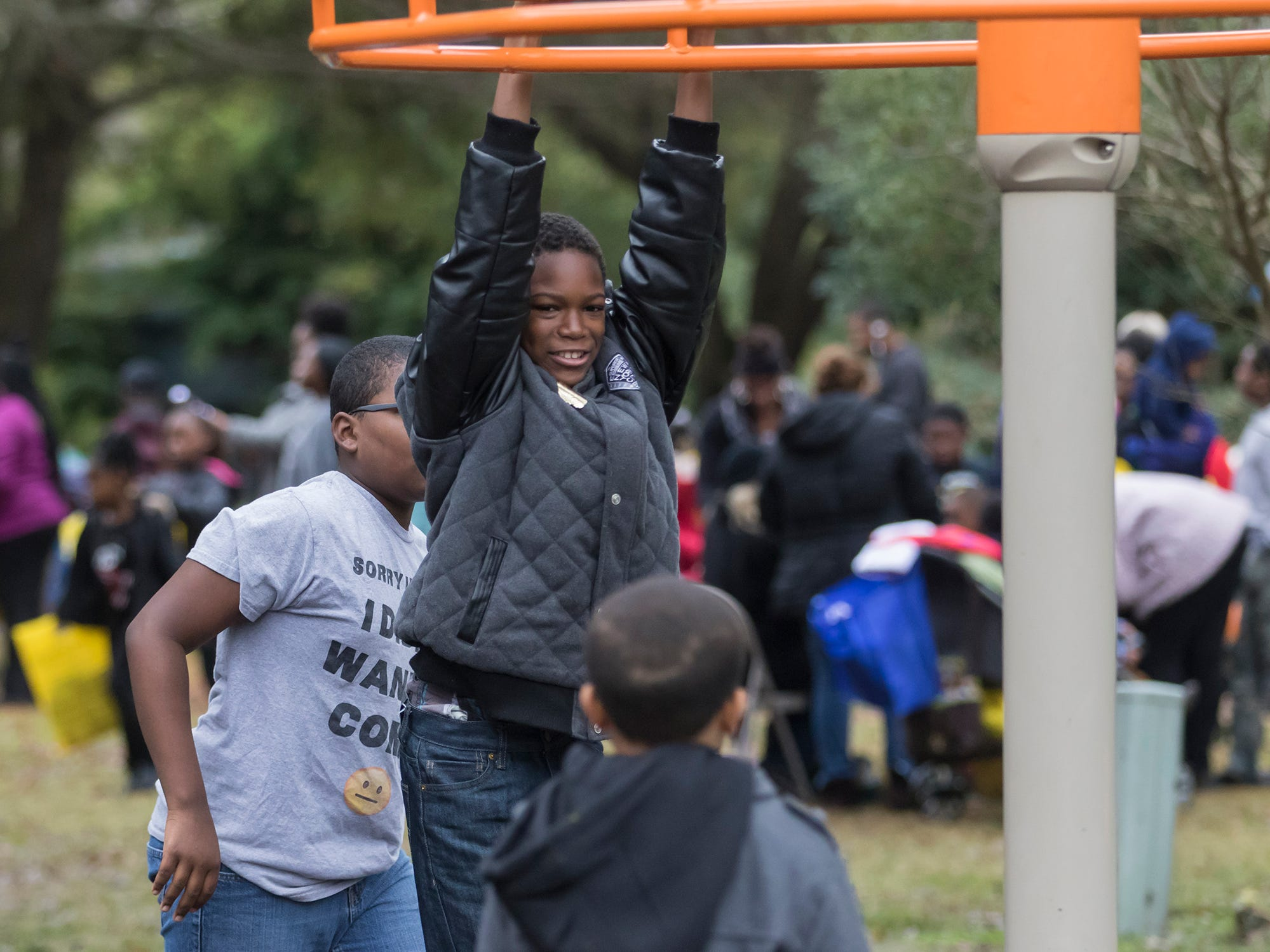 The Louisiana Purchase Zoo held Jungle Bells in Monroe, La. on Nov. 15. The free event featured a visit from Santa and a bicycle raffle for kids.