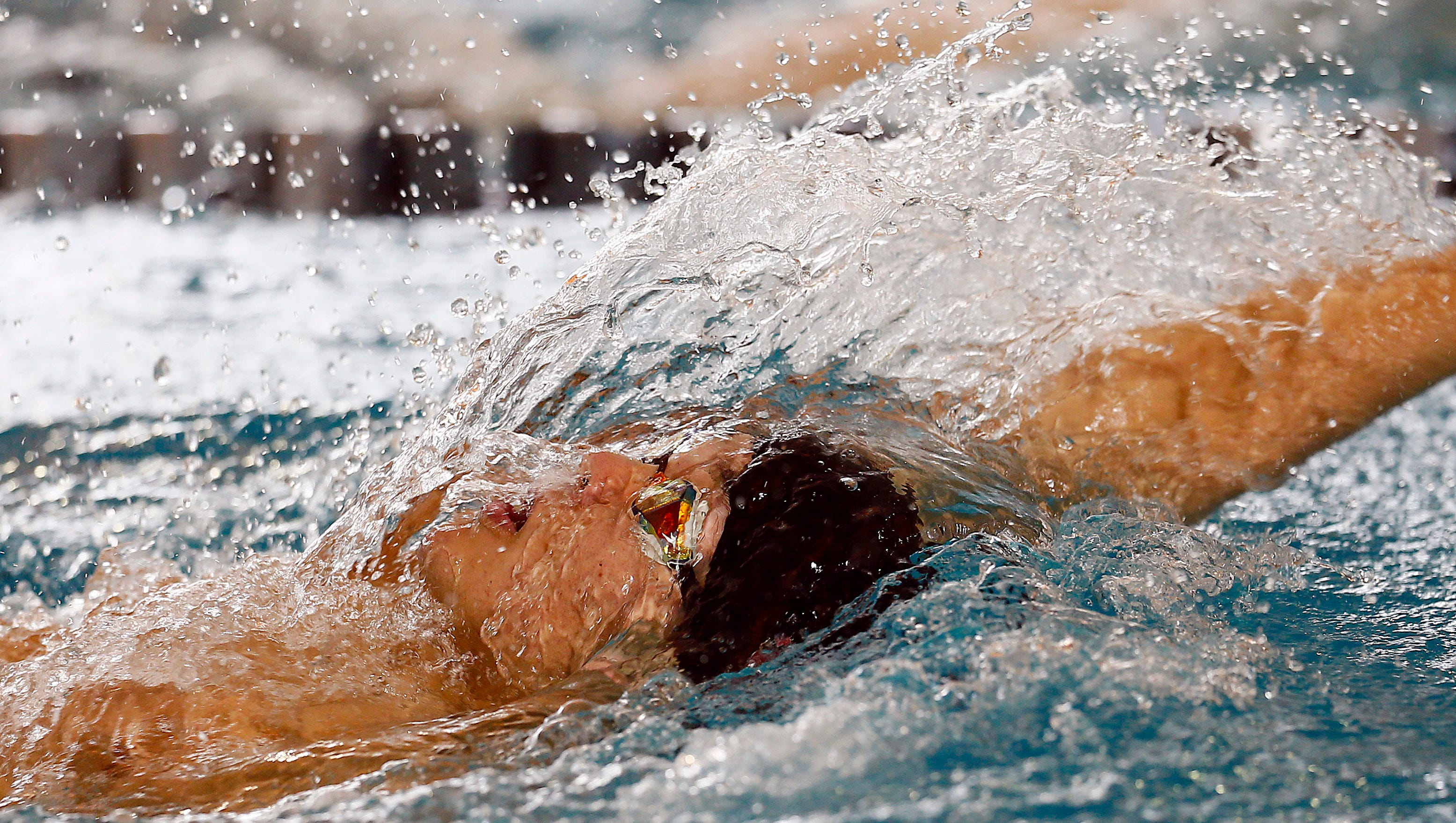 Pingry's Dillon Shu swims the boys 200 yard IM during the NJSIAA swimming Meet of Champions at the Gloucester County Institute of Technology. March 3, 2018. Sewell, NJ.