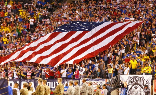 U.S. Men's National Team's international friendly against Brazil at MetLife Stadium in East Rutherford, N.J. The US was defeated 2-0 by the five-time World Cup champions. September 7, 2018, East Rutherford, NJ