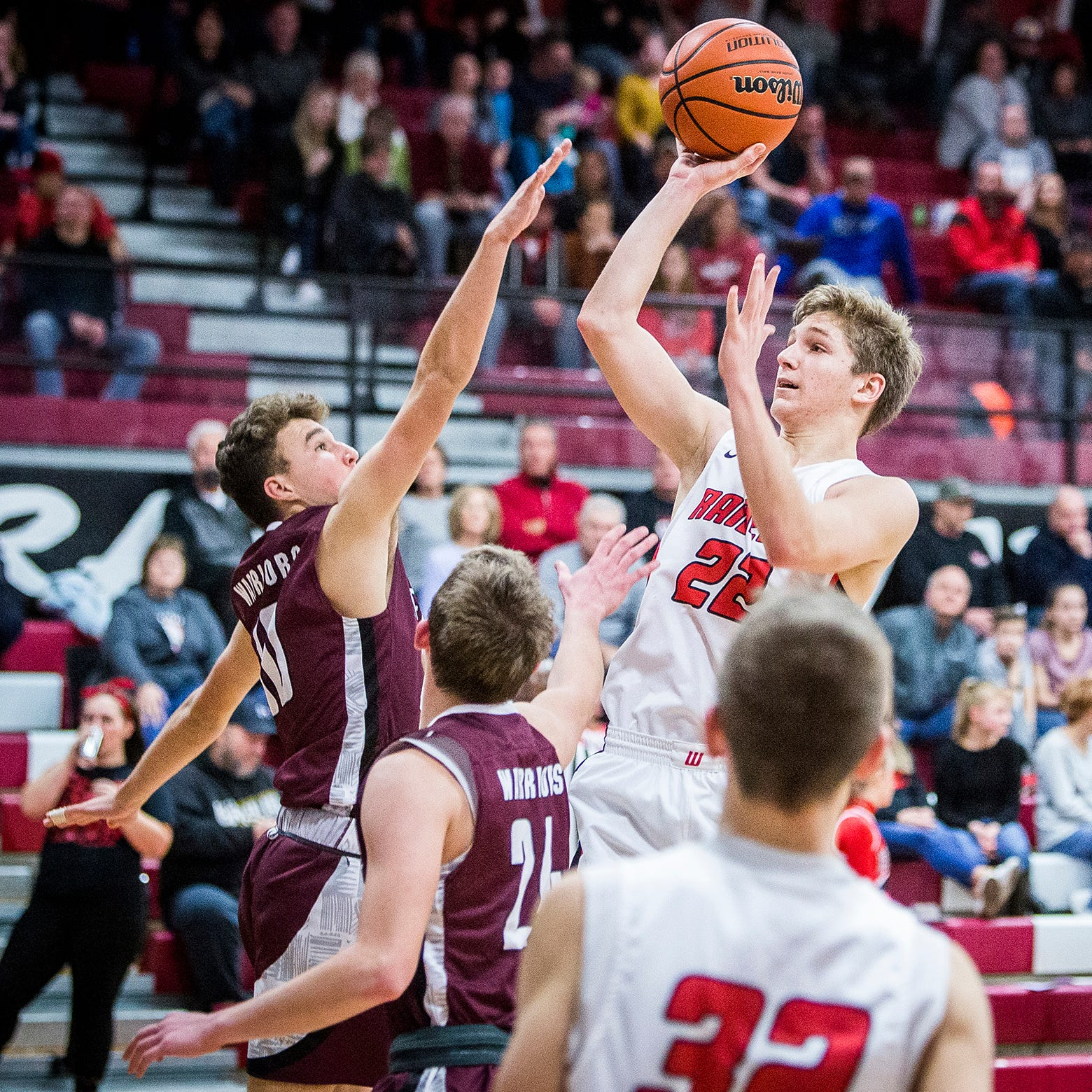 HS hoops rundown: 6 ECI teams earn wins; Luke Brown scores career high
