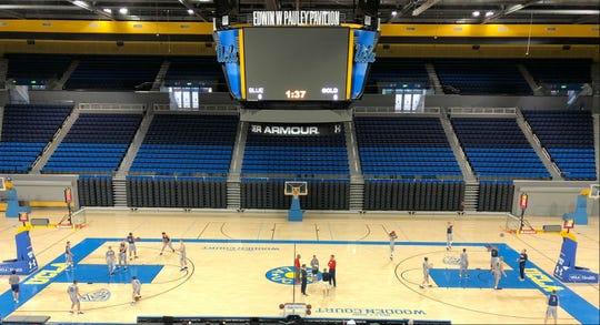 Belmont played UCLA Saturday at Pauley Pavilion