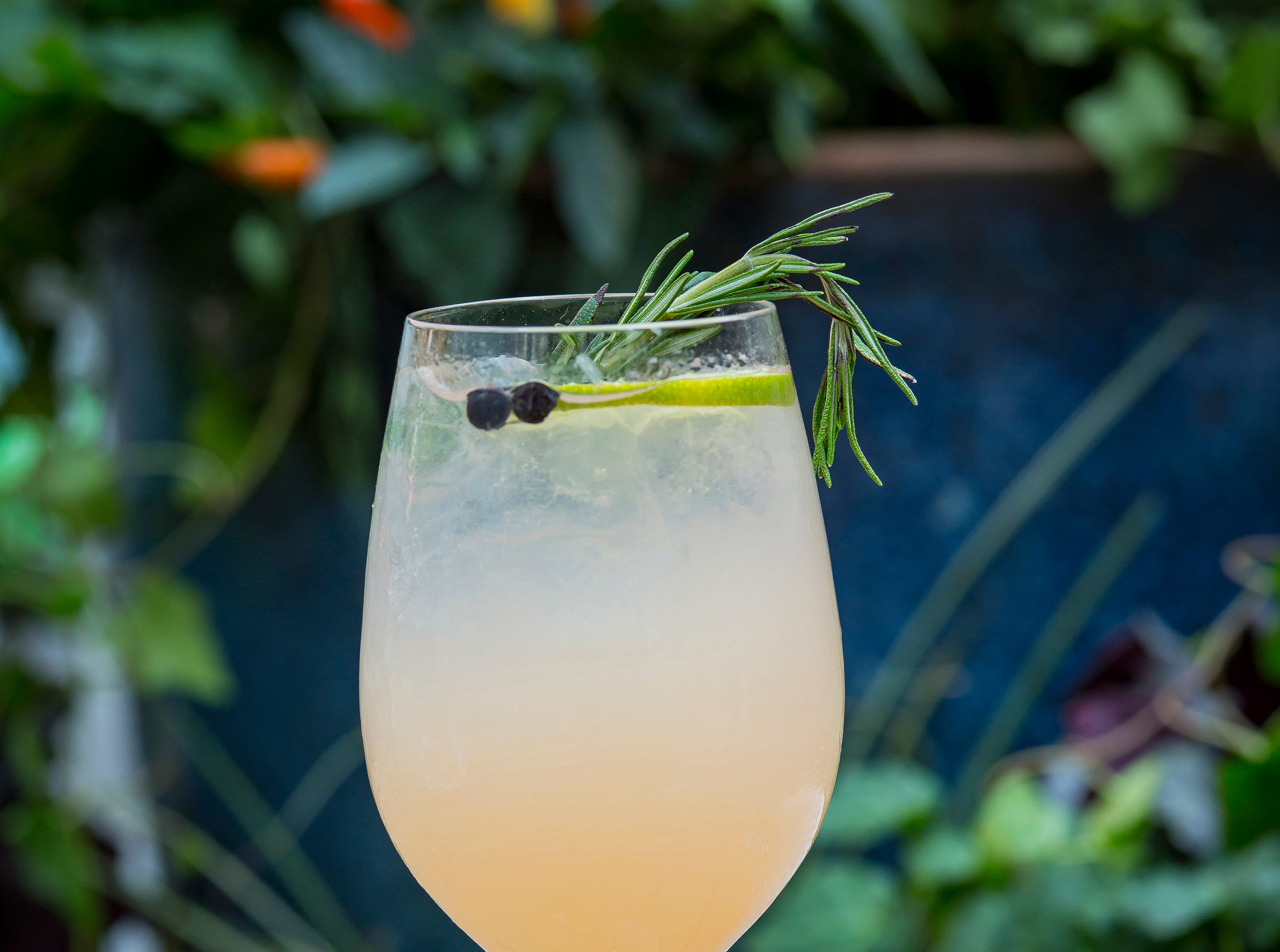 Gatsby G&T cocktail at The Hampton Social, opening in December 2018 at Mercato in North Naples.