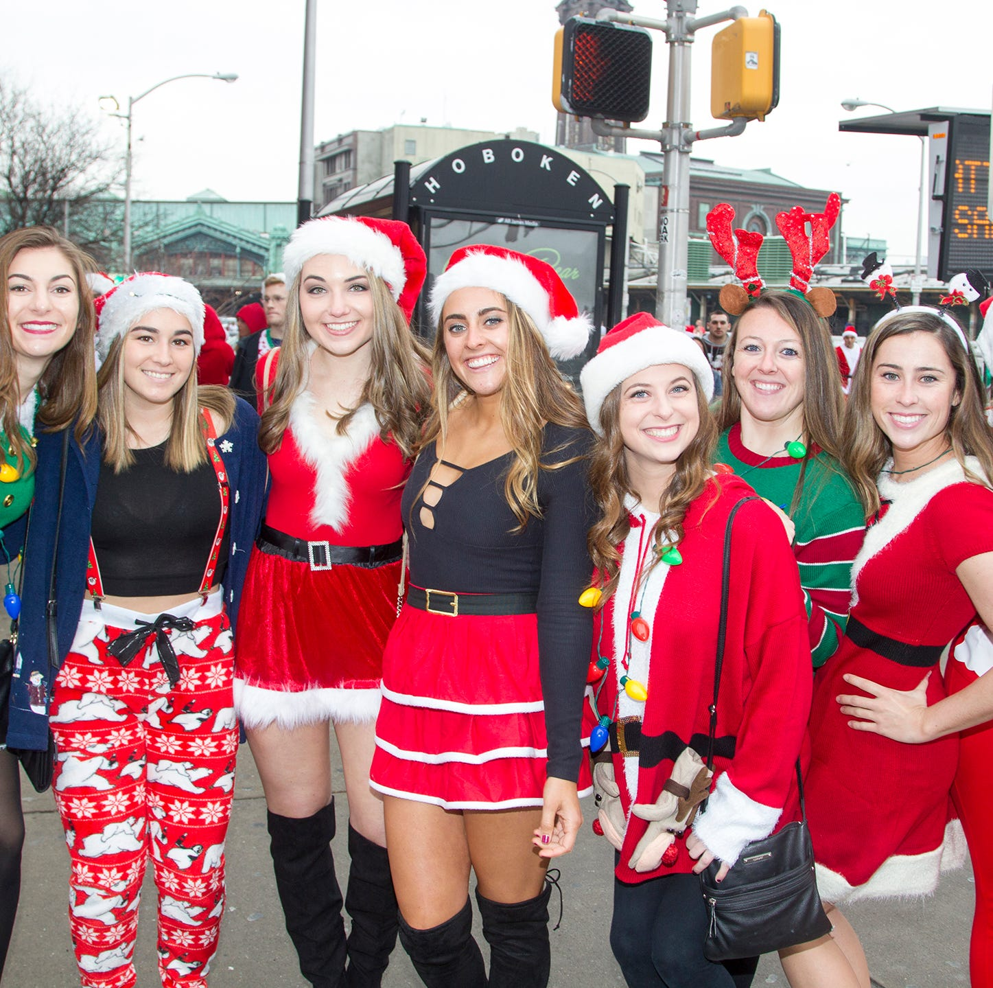 Hoboken police chief is live tweeting SantaCon revelry