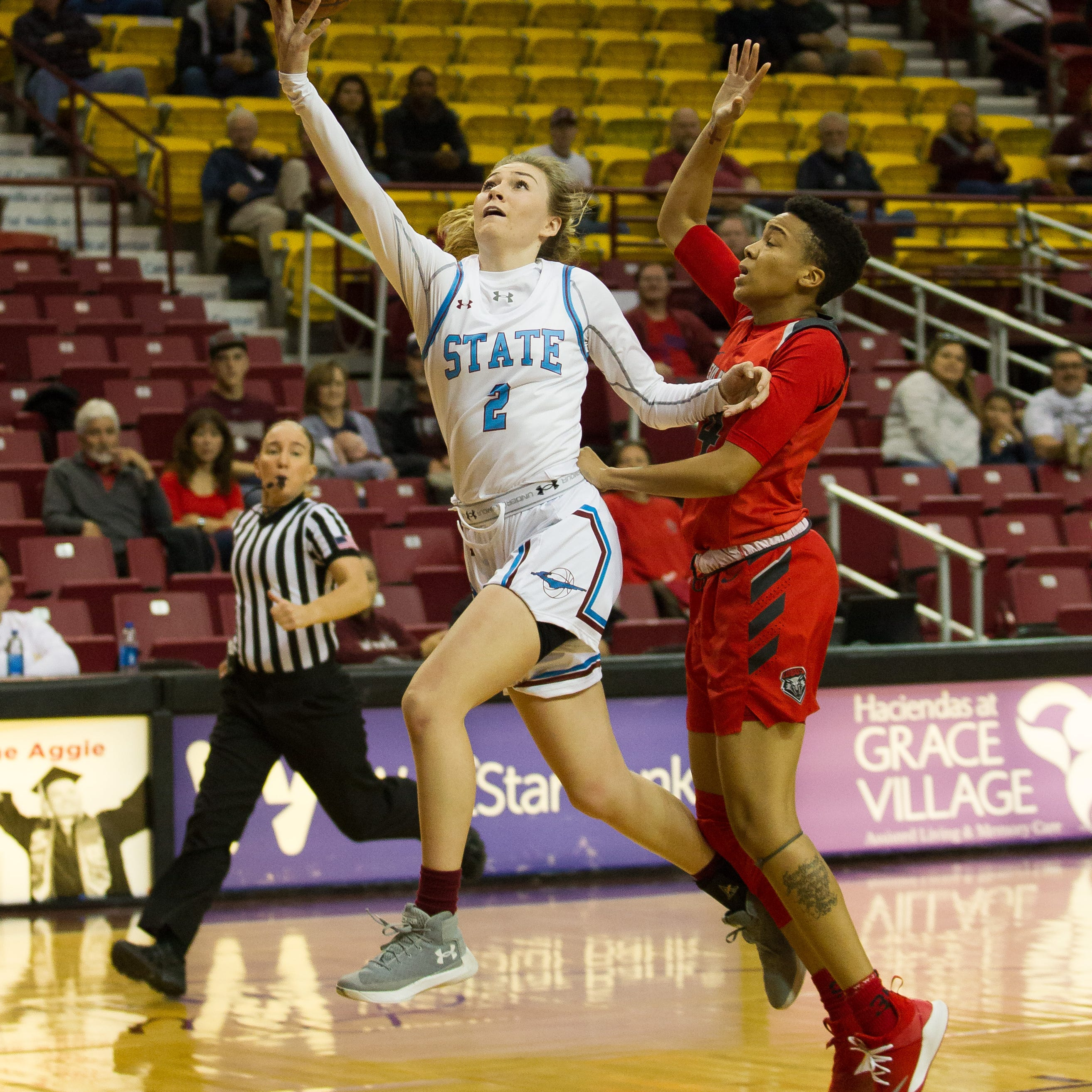 Turnovers cost New Mexico State women in home loss to New Mexico