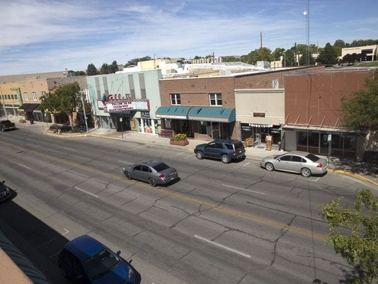 Downtown Farmington is pictured in 2017 in this file photo.