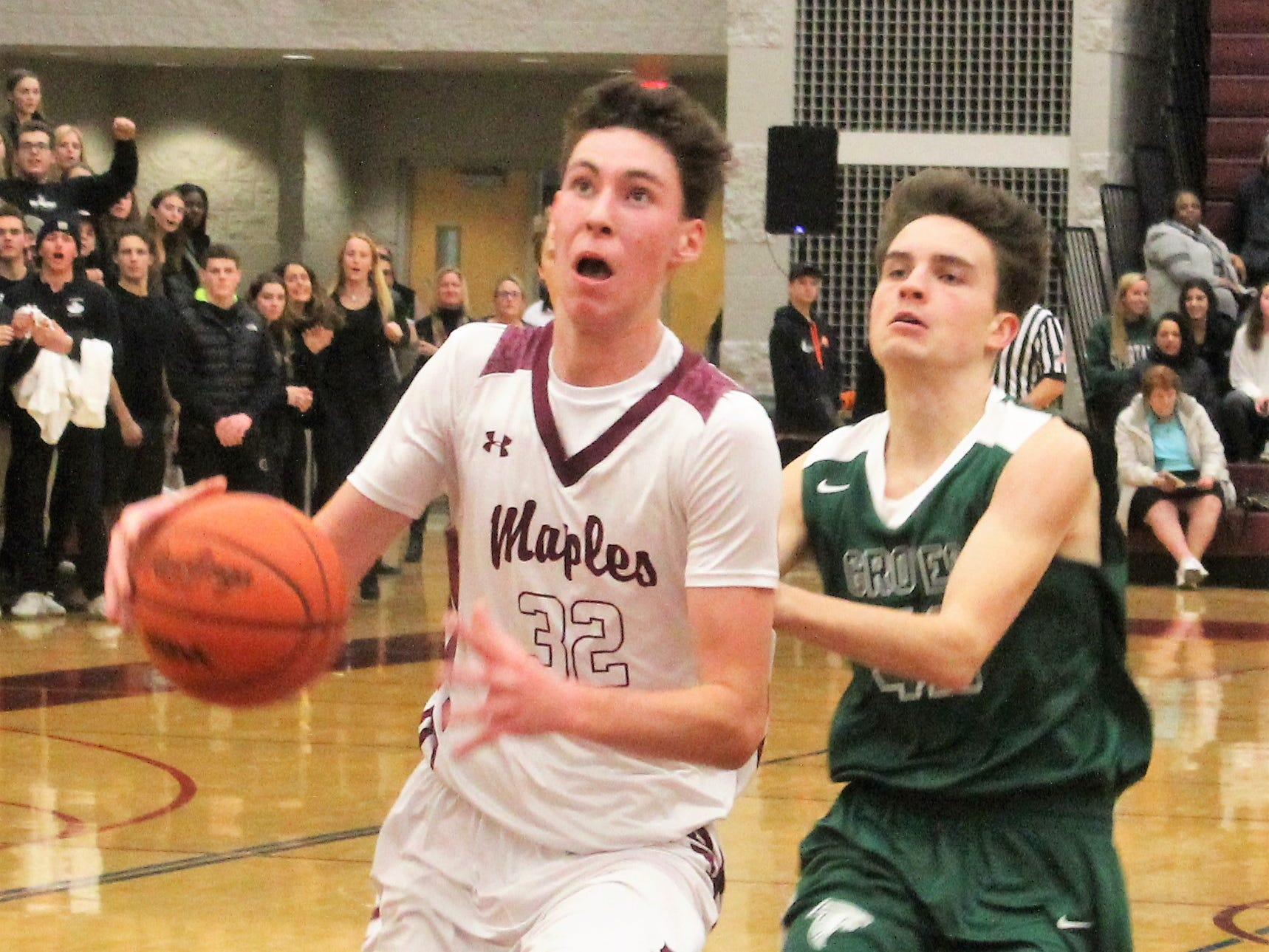 Visiting Groves defeated Seaholm, 62-53, in the only regular-season Battle of Birmingham in boys basketball this season.