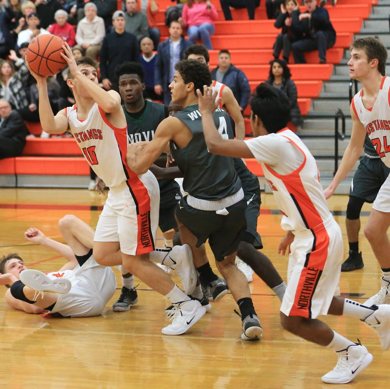 Down to the wire: Novi edges Northville on Verma's clutch trey