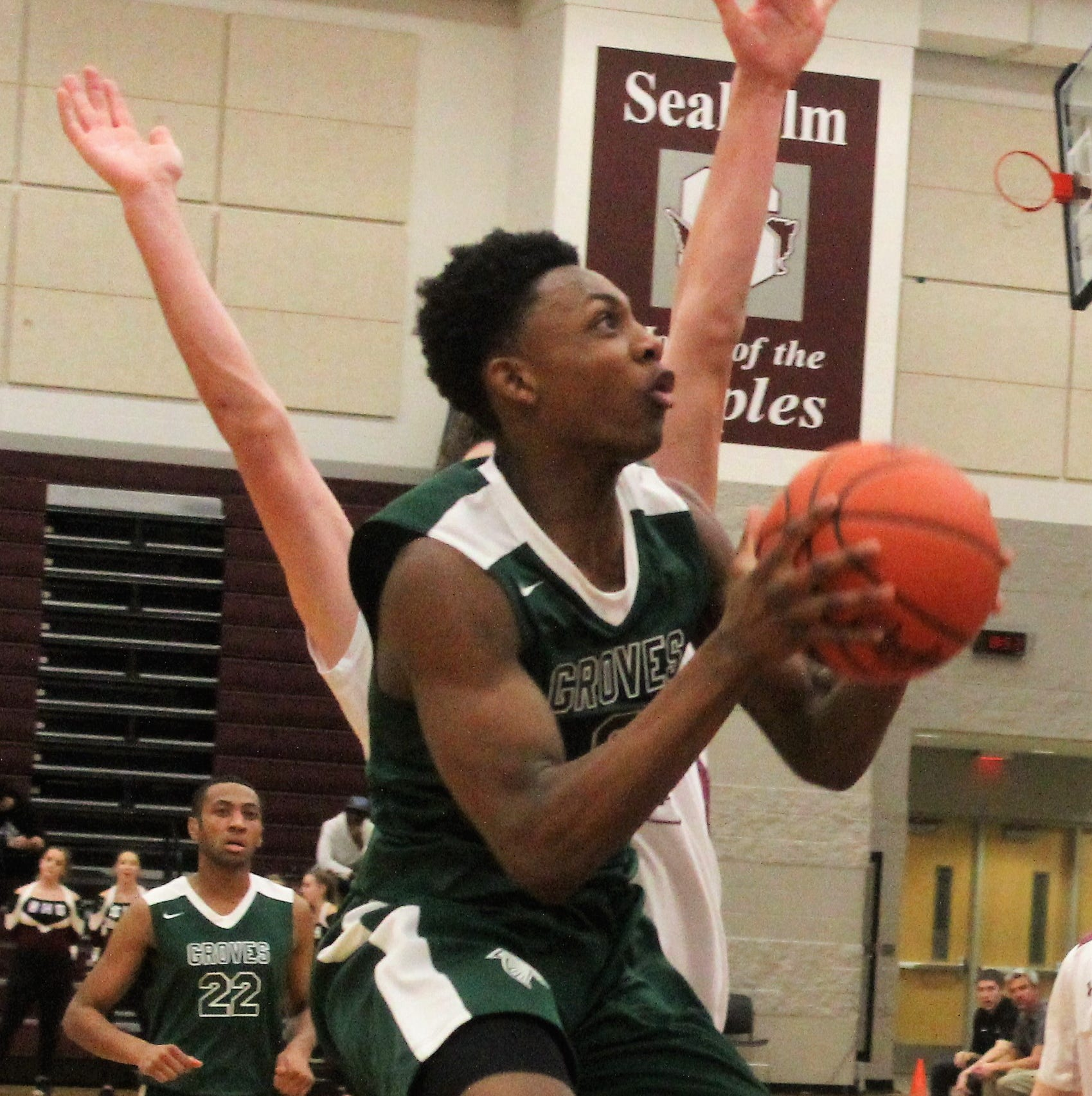 Groves takes over in fourth quarter to corral district rival Seaholm