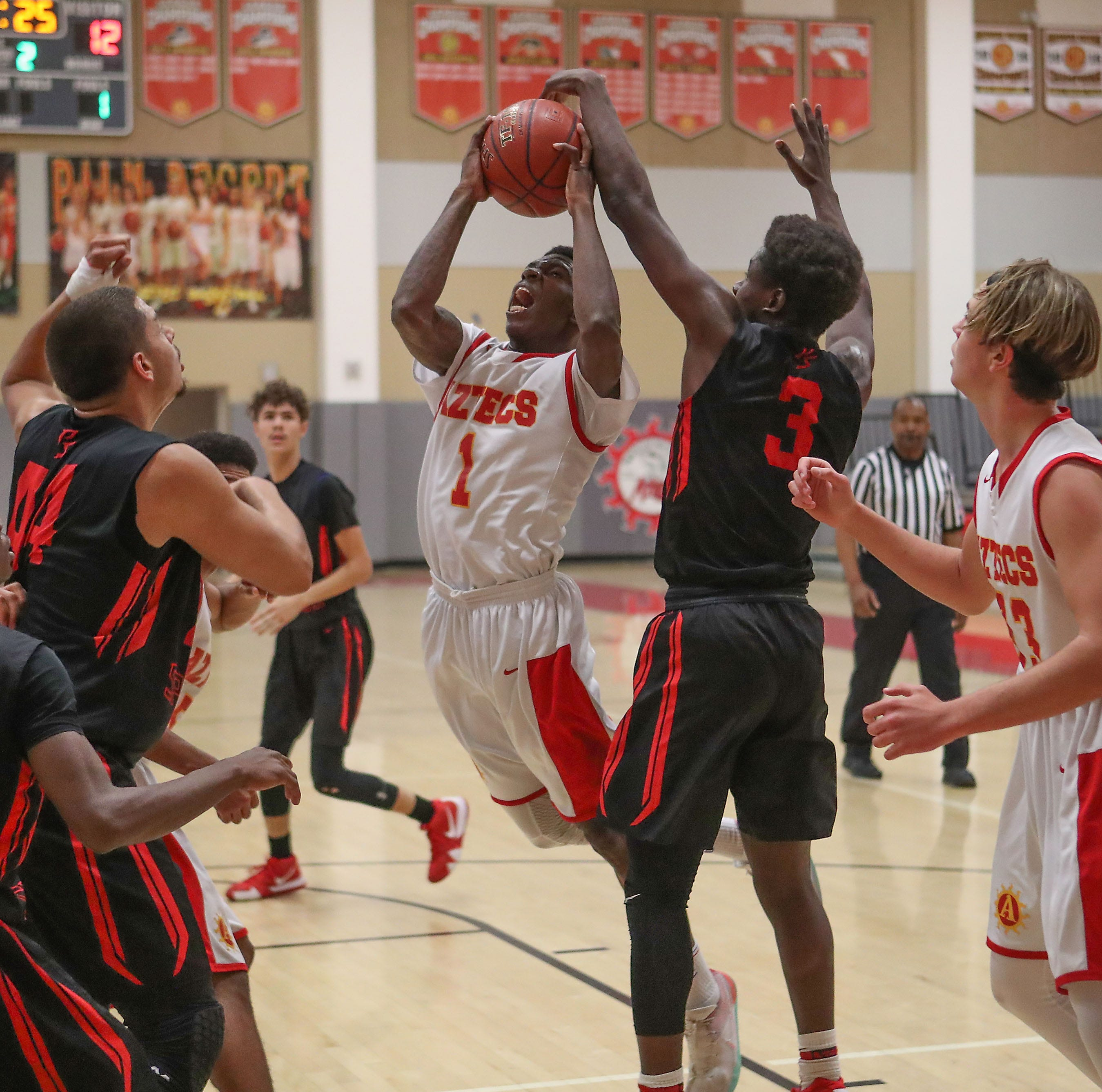 Palm Springs basketball the ultimate road warriors, move to 9-0 on season with seven road wins