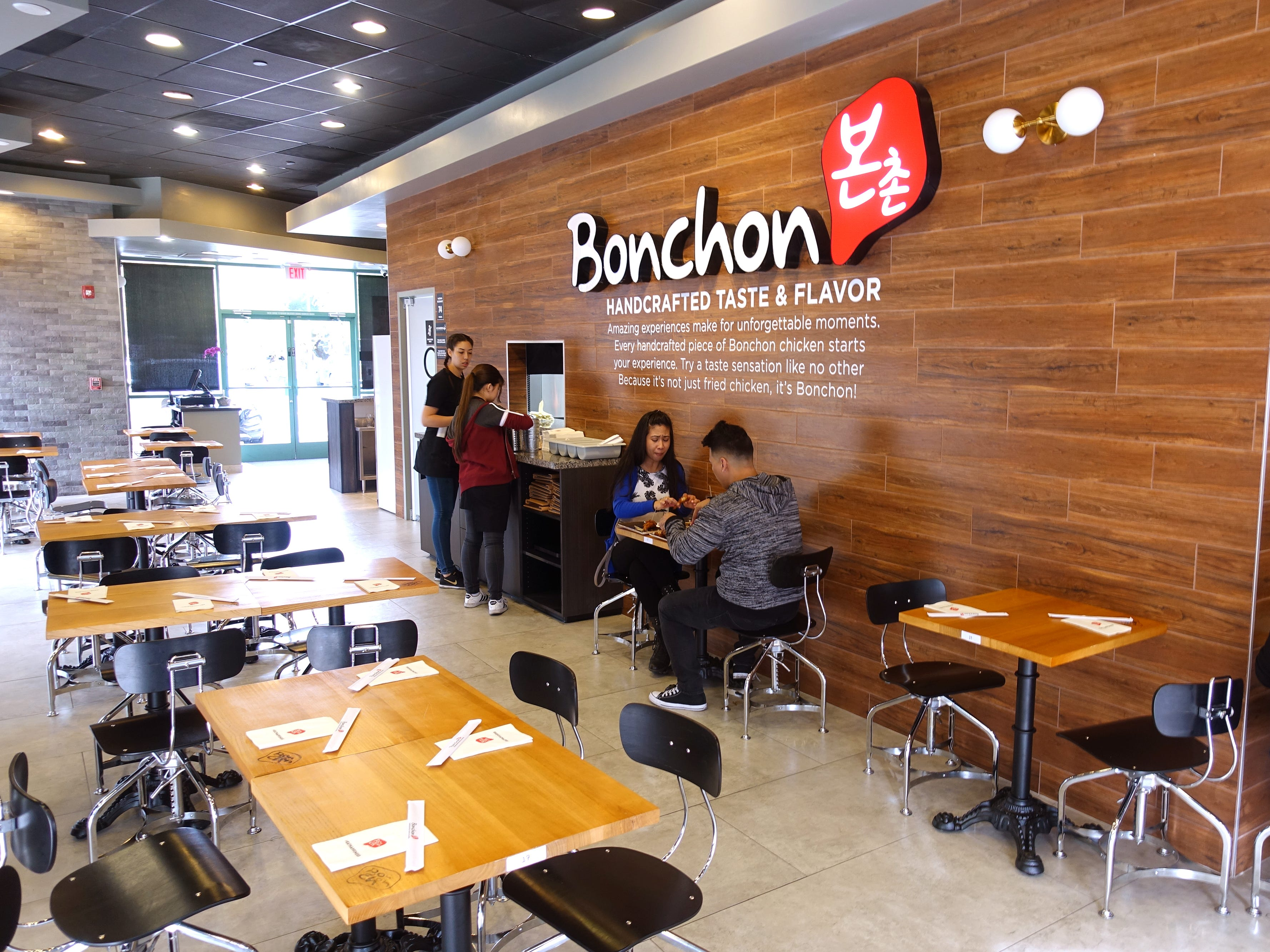 The interior of Bonchon in Tempe.