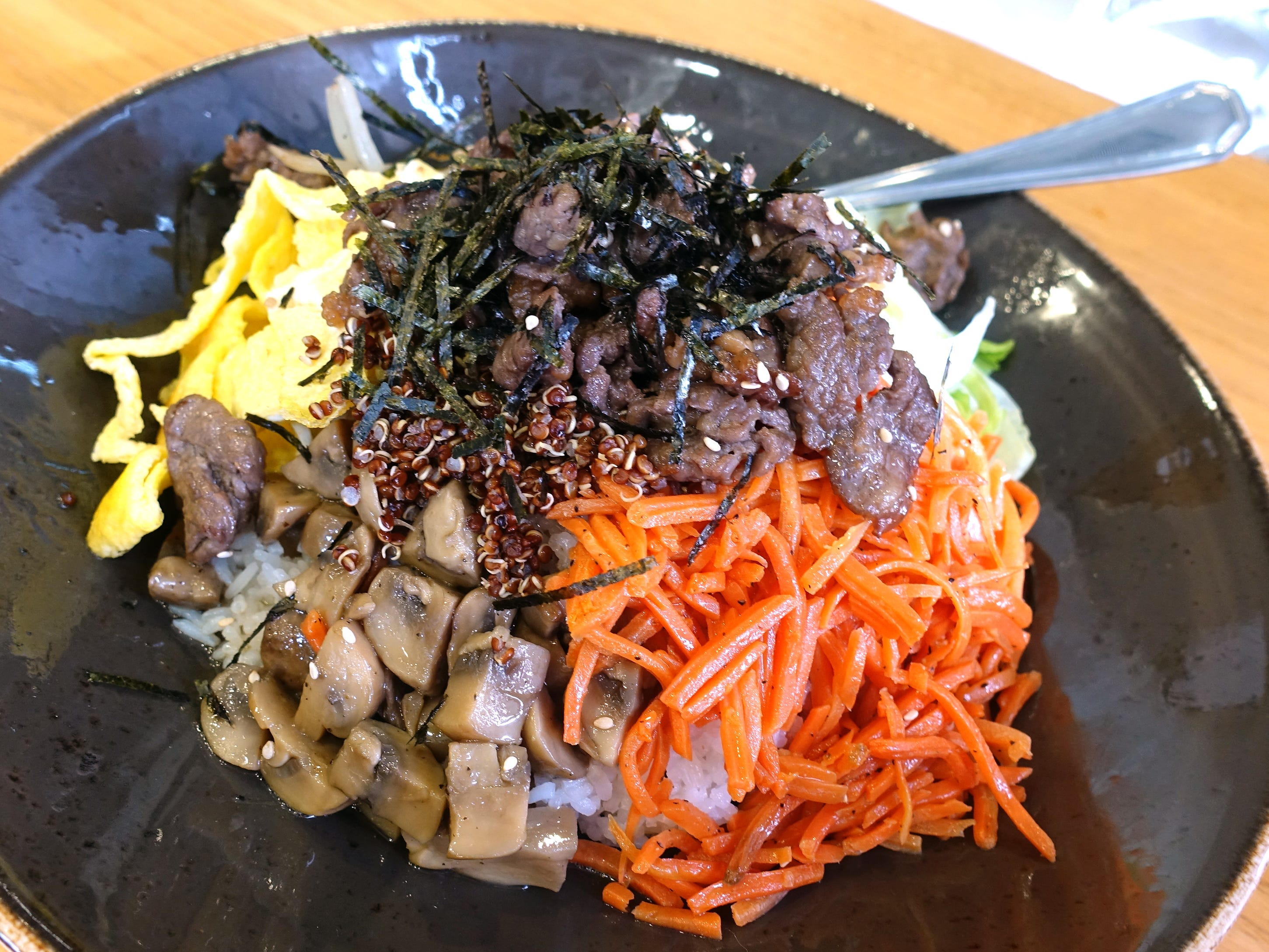 Bulgogi bibimbap at Bonchon in Tempe.