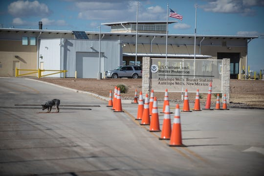 This Jan. 7, 2017 photo, shows the Antelope Wells port of entry from the El Berrendo, Mexico, side of the border with southern New Mexico. U.S. immigration officials are defending their actions in the detention of a 7-year-old Guatemalan girl who died two days after she and her father were taken into custody along a remote stretch of the U.S. border. They were found near the Antelope Wells port of entry, which was closed when they arrived. It's not clear if they had been trying to cross legally. (Roberto E. Rosales/The Albuquerque Journal via AP)