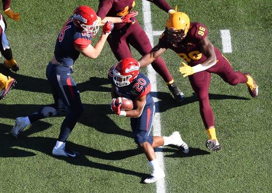 Ncaa Football Las Vegas Bowl Arizona State Vs Fresno State