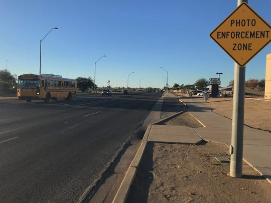 El Mirage set up a speed trap by reducing the speed limit too much in a school zone on Thompson Ranch Road. Now, the city is repaying all of the drivers who were cited by a photo enforcement camera.