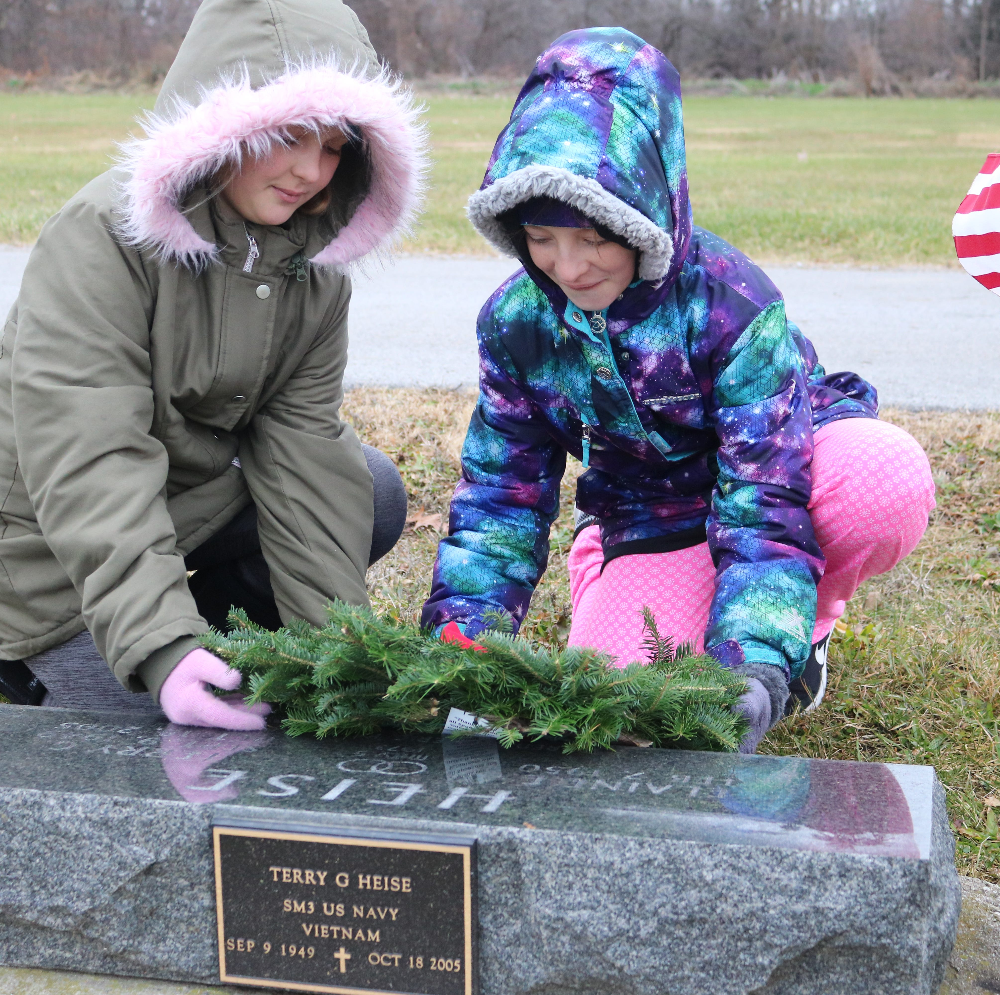 Wreaths placed on every veteran's grave in Ottawa County
