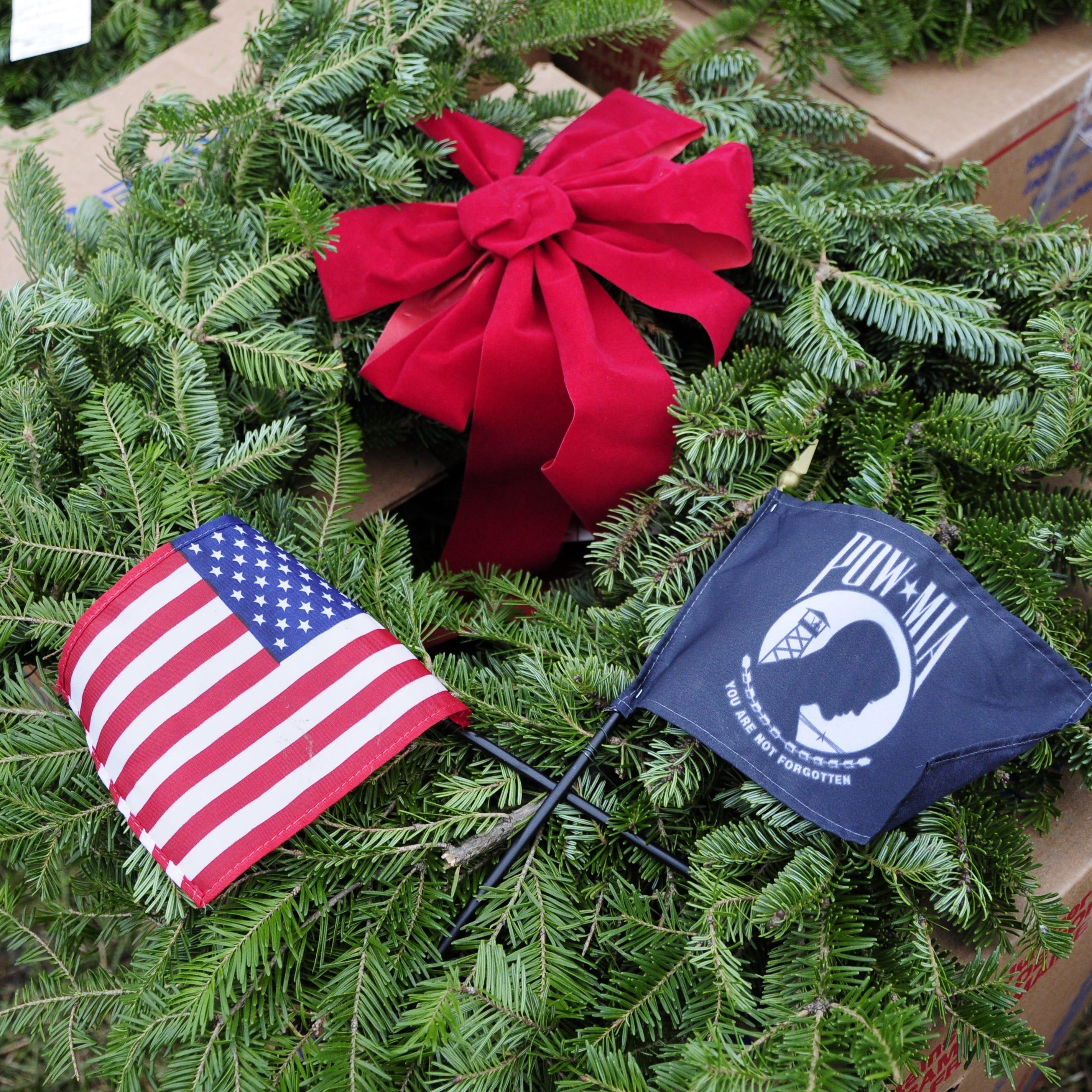 Wreaths Across America honors deceased veterans
