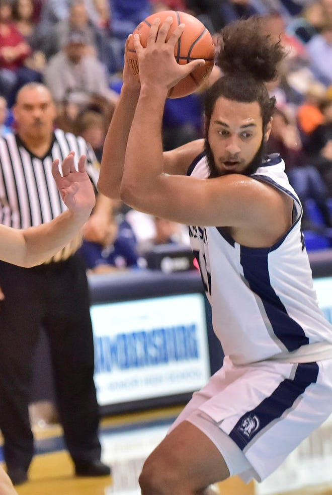 Chambersburg's Tyler Collier led his team to a big victory over Cumberland Valley on Tuesday night.