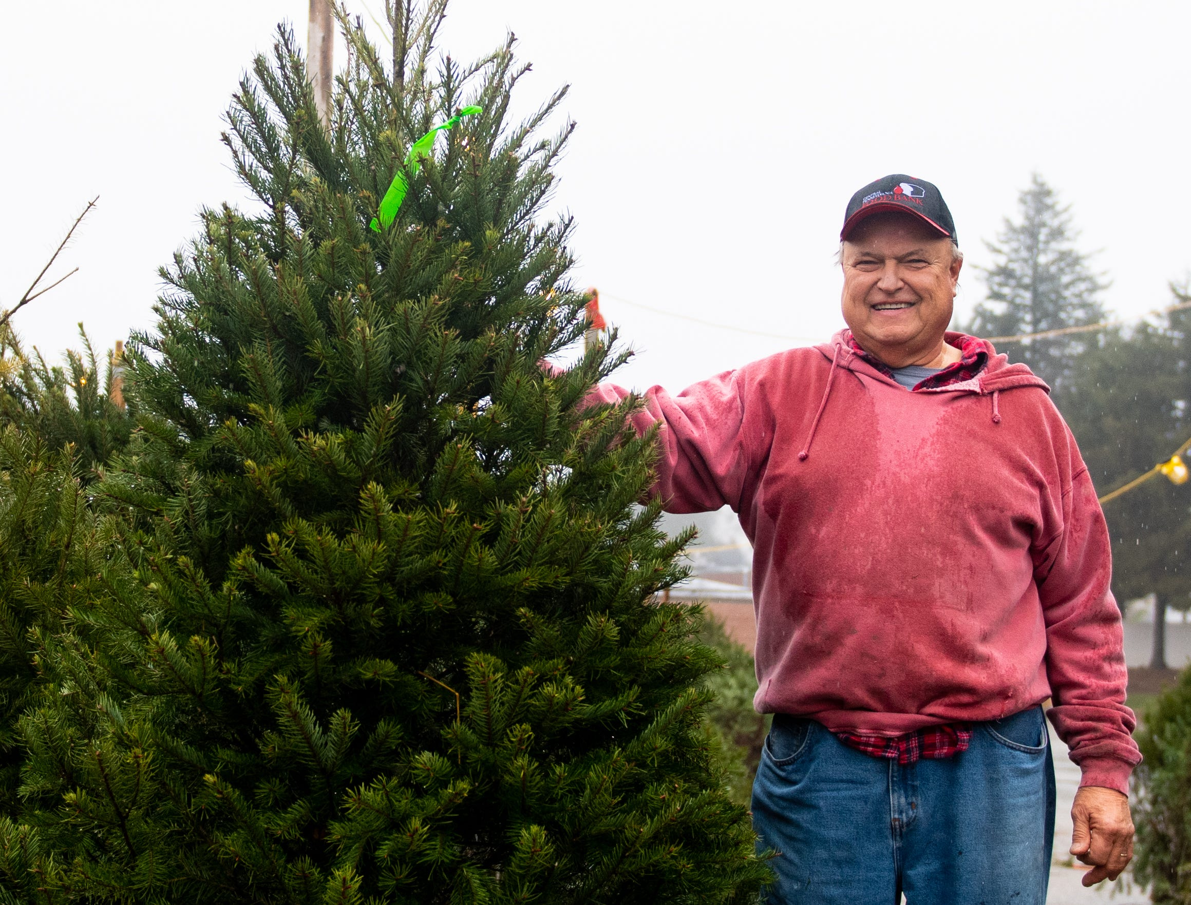 """I started this in 1972, and it's been tied in with either the Central Pennsylvania Food Bank or the York Food Bank. If life's good to you, help people that need help, which is a lot of people in this world,"" Glenn Olsen said of the annual tree sales."