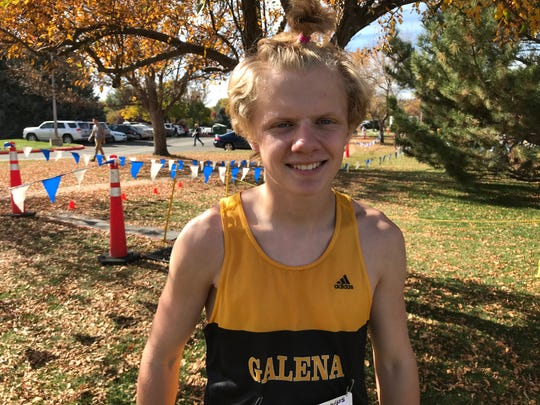 Galena sophomore Matt Gordon won the boys Northern 4A Regional and state cross country championships this fall.