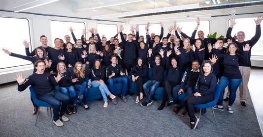 Staff from Figure Technologies' San Francisco headquarters.