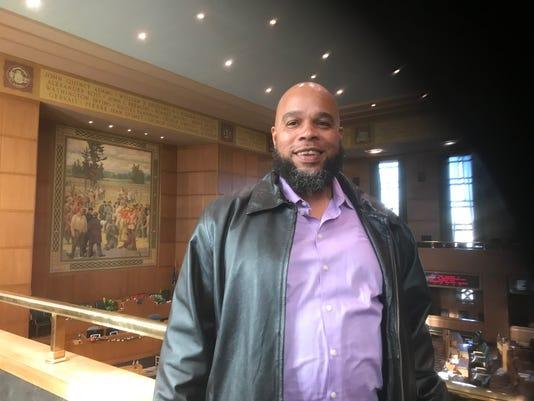 Gerard Richardson at the Oregon State Capitol