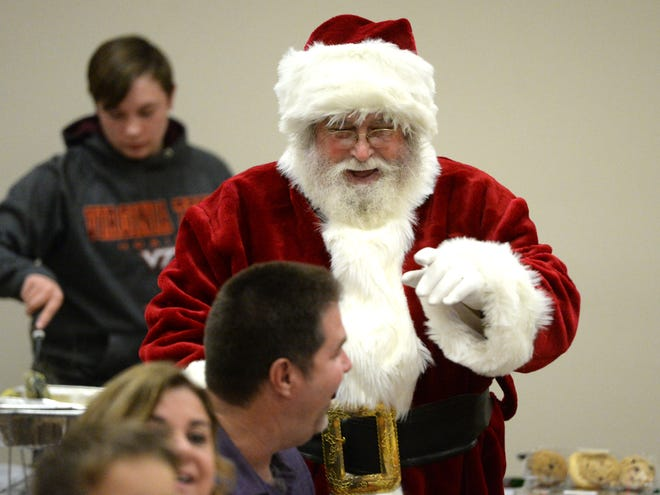 Doug Wright has been Santa for more than 30 years.
