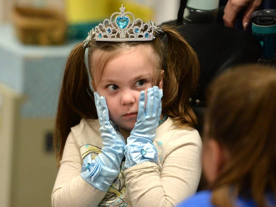 Lucy Rhoden has Dravet Syndrome, a rare form of epilepsy, The Bessie Weller second grader was recently granted a trip to Disney World by Make-A-Wish.