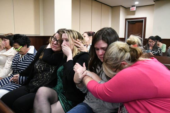 Family friends of Mike Williams, the man who was shot and killed by his best friend Brian Winchester, 18 years ago, let out a flood of emotions when the guilty verdicts came in from the jury in the murdrer trial against Denise Williams, the former wife of Mike Williams.