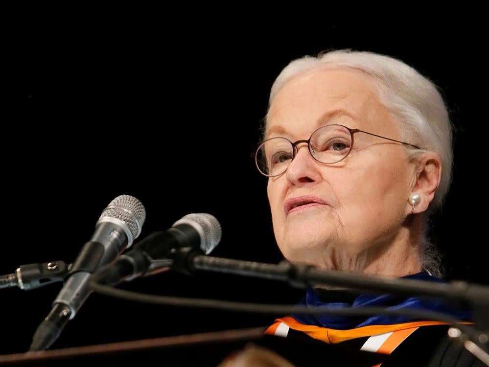 UTEP President Diana Natalicio presides over what likely will be her last commencement before retirement.