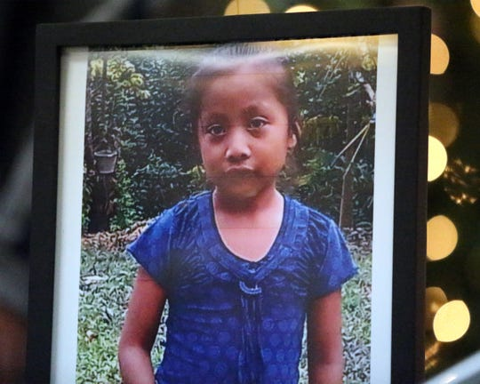 This photograph shows Jakelin Caal Maquin, a 7-year-old migrant girl from Guatemala who died in El Paso after being apprehended by the Border Patrol in New Mexico.