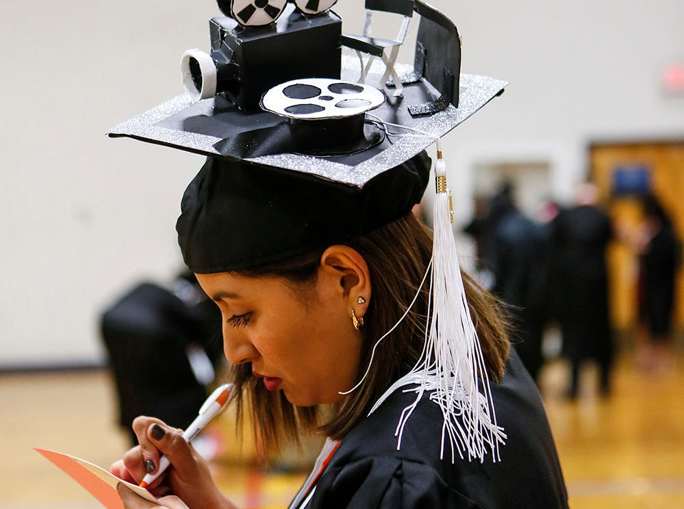 A lover of film writes Saturday as UTEP celebrated winter commencement.