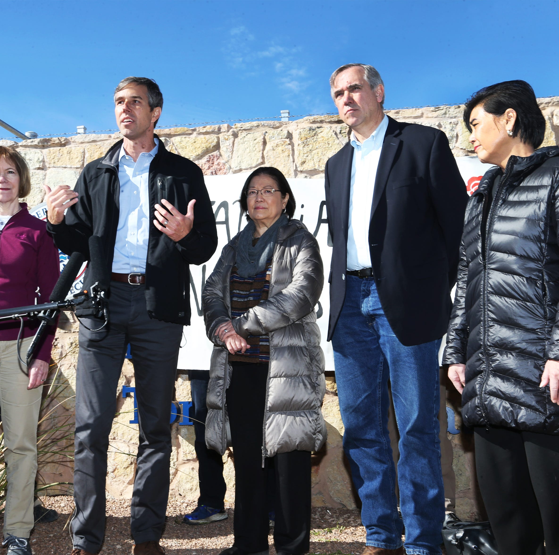 Beto O'Rourke, Veronica Escobar call for $144 million Tornillo tent shelter to close