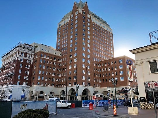 The historic Hotel Paso Del Norte renovation ran into problems because of a dispute between the now-fired contractor and hotel ownership. It's located at 101 S. El Paso St., in Downtown El Paso.
